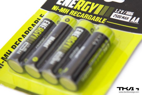 Packaging pilas energy